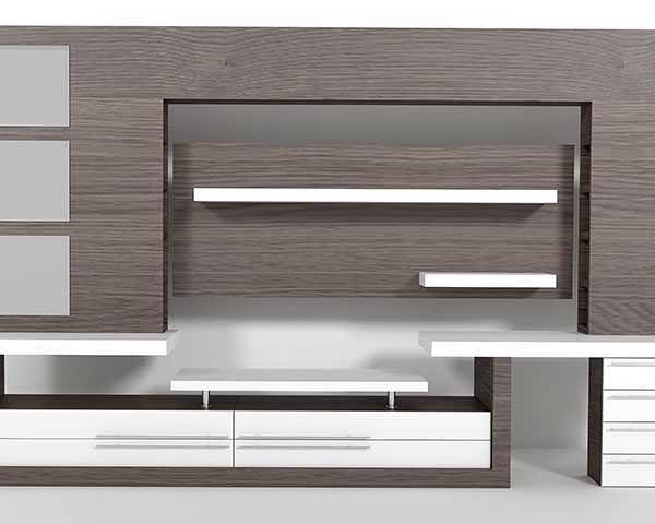 sleek-grey-modern-custom-entertainment-unit